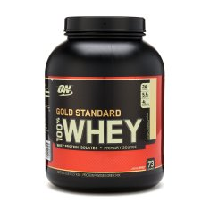 Gold Standard 100% Whey, French Vanilla Crème Optimum Nutrition 5 Lbs.