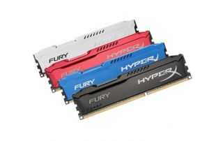 Bộ nhớ trong Kingston 8GB 2400Mhz DDR4 CL15 DIMM Fury HyperX Black
