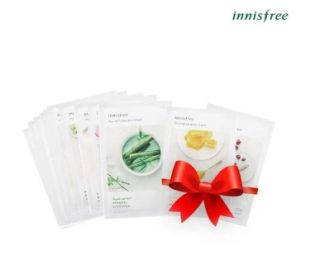 Bộ mặt nạ Innisfree My Real Squeeze Mask 10 miếng